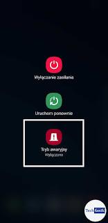 Samsung Jak włączyć Tryb Awaryjny?