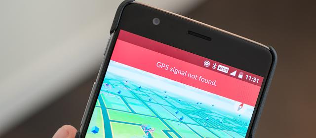 GPS signal not found di pokemon go