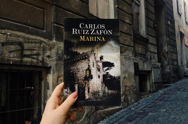 """jedna z najlepszych książek tego roku. """"Marina"""", Carlos Ruiz Zafón"""