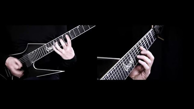 "OBSCURA: ""Anticosmic Overload"" gutiar playthrough"