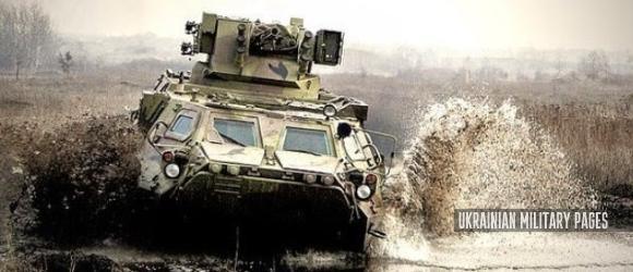 БТР-4 з бойовим модулем Парус