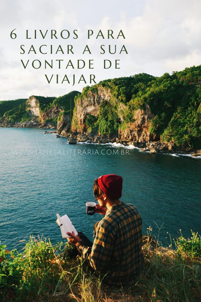 livros vontade de viajar