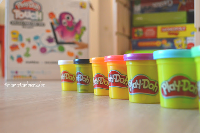 Play Doh Touch con plastilinas en 7 colores