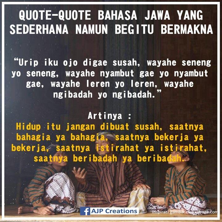 Kata Kata Motivasi Kerja Bahasa Jawa Cikimmcom