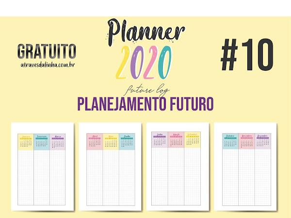 Planner 2020 #10: Planejamento anual Gratuito para download