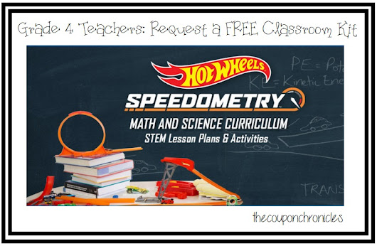 FREE Hot Wheels Classroom Kit - Grade 4 Teachers
