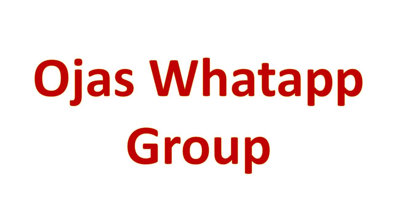 Ojas Whatapp Group