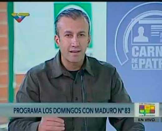 """¡A LOS QUE LES LLEGA! El Aissami anuncia que """"se reducirá"""" la periodicidad de entrega de los Clap (+Video)"""