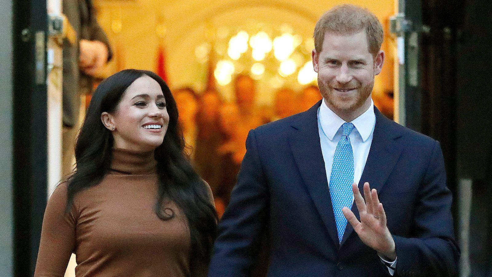 El príncipe Harry y Meghan anunciaron el nacimiento de su segunda hija
