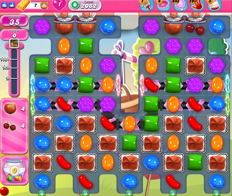 Candy Crush Saga level 2082