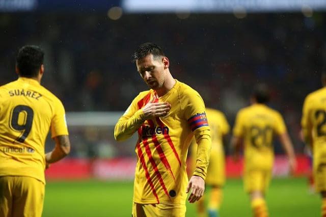 هدف ميسي القاتل في اتلتيكو مدريد 2019