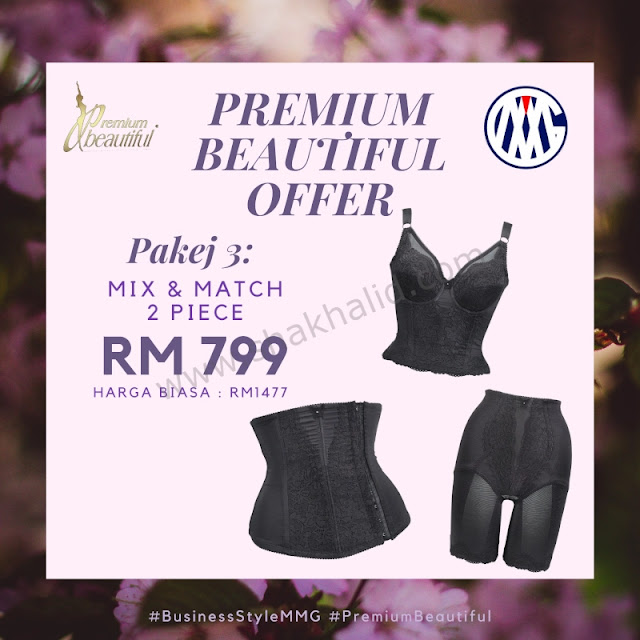 premium beautiful offer pakej 3