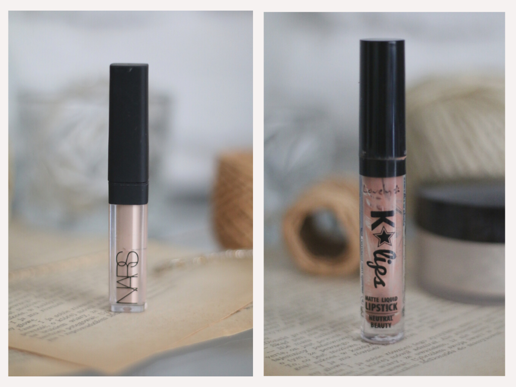 LOVELY K-lips Zastygająca płynna pomadka / kolor: Neutral Beauty opinie blog