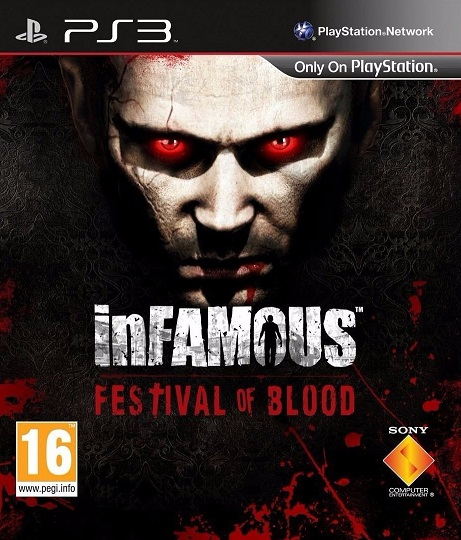 Infamous Festival of Blood PS3 ISO