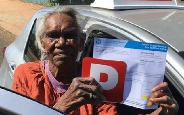 75 की उम्र में इस महिला को बनवाना पड़ा ड्राइविंग लाइसेंस, जानें वजह