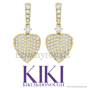 Kate Middleton jeweler KIKI McDONOUGH Earring