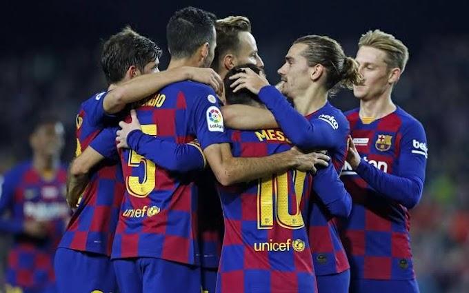 No coronavirus cases at Barcelona among players or staff so far