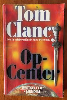 Portada del libro Op-Center, de Tom Clancy, Steve Pieczcenik y Jeff Rovin