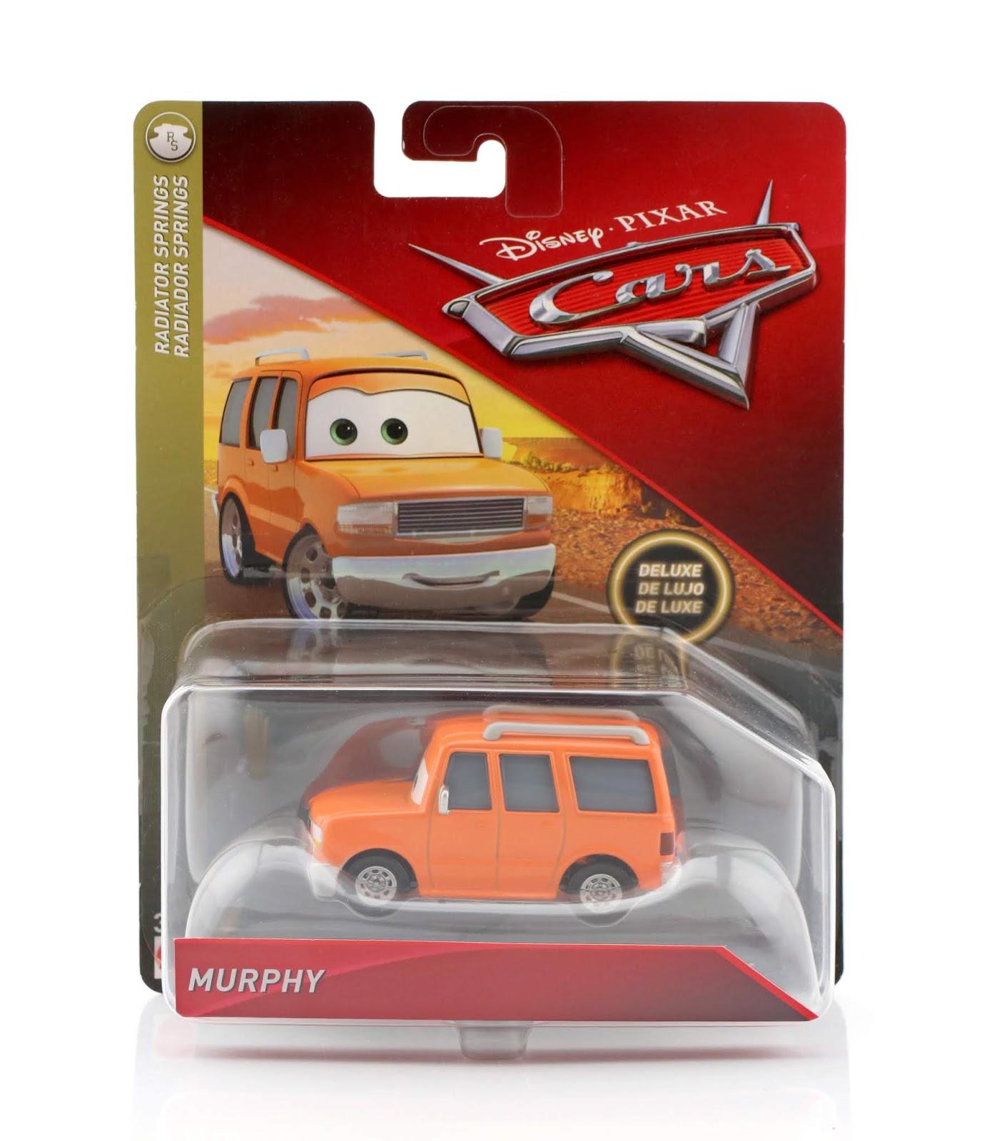 pixar cars murphy diecast review