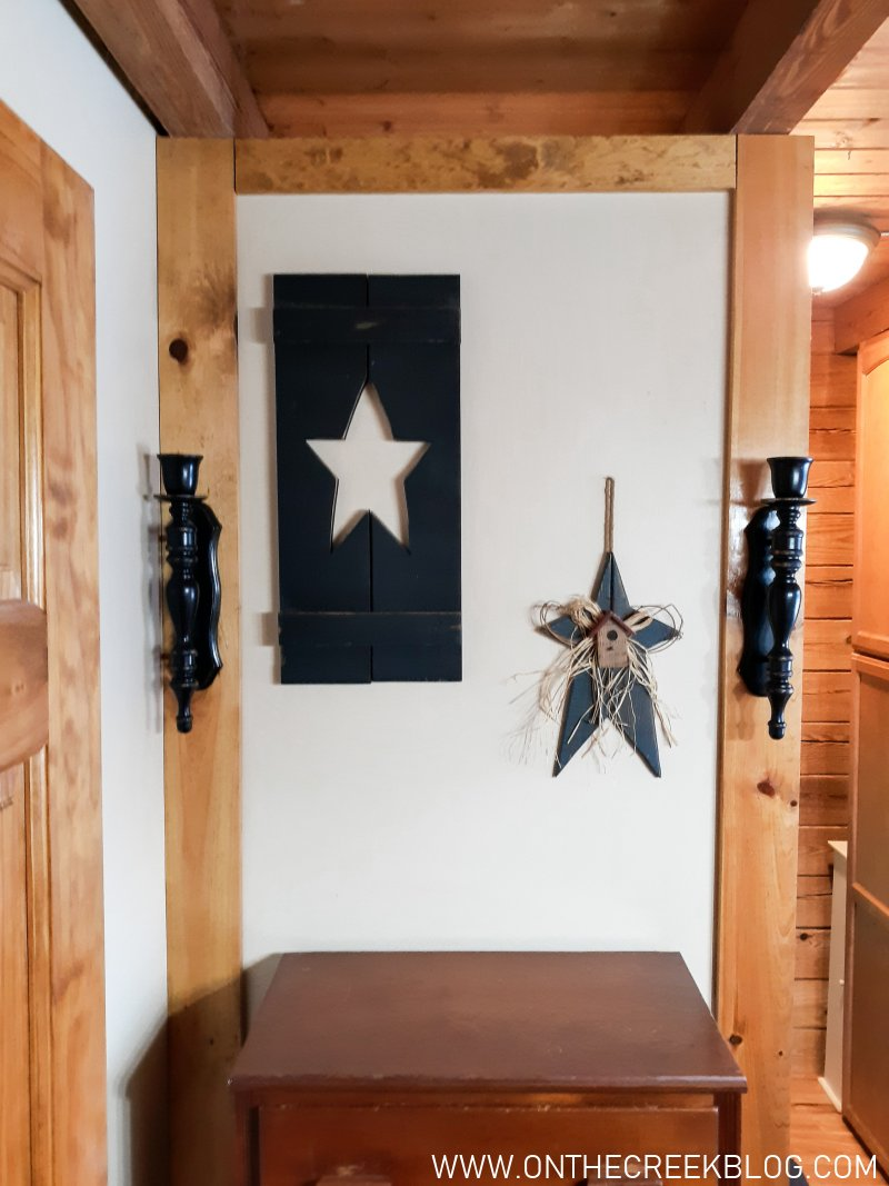 Vignettes for open floor plans | On The Creek Blog