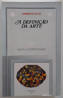 A Definição da Arte, de Umberto Eco