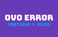 OVO Error