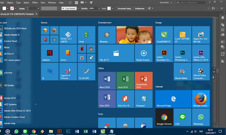 Windows 10 Baru Yang Aku Suka
