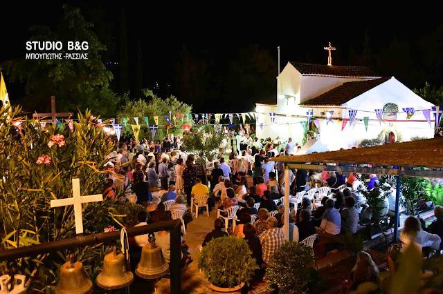 Η εορτή των Αγίων Αδριανού και Ναταλίας στον Άγιο Αδριανό (Κατσίγκρι) Ναυπλίου (βίντεο)