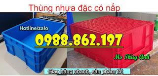 Screenshot 12 thùng nhựa có nắp B8,Thùng nhựa có nắp, thùng nhựa đựng vật tư, thùng nhựa đựng đồ cơ khí