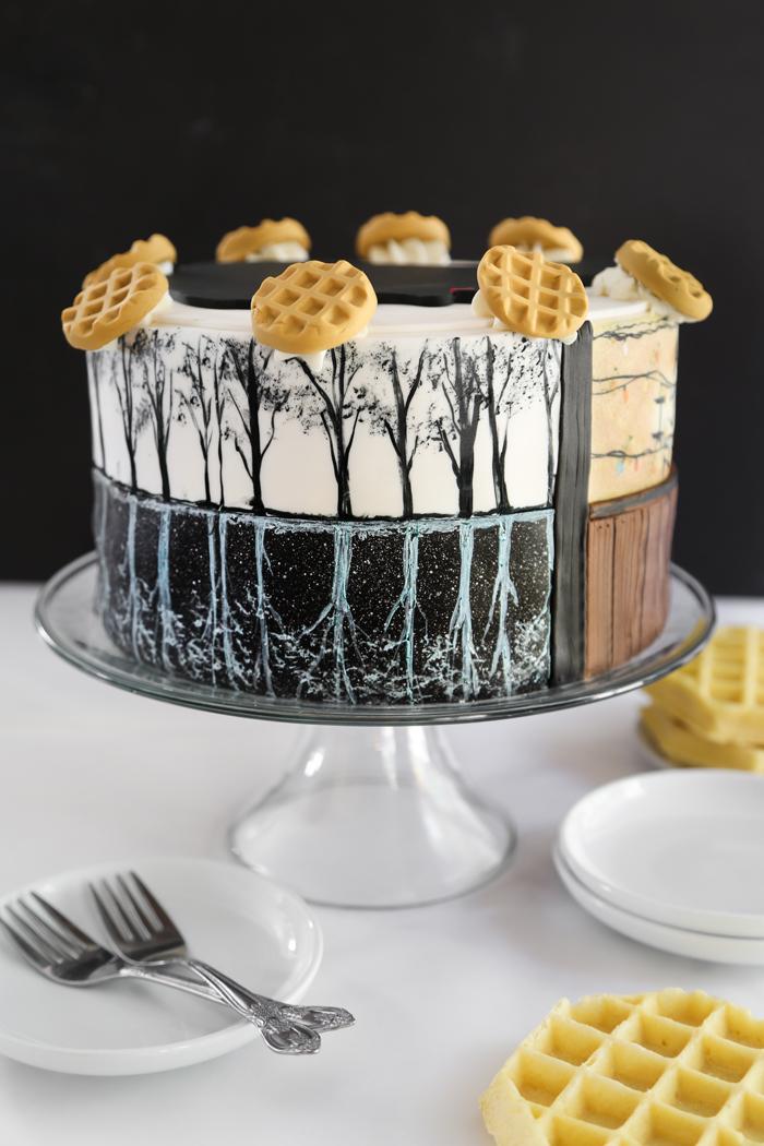Stranger Things Eleven Cake Sprinkle Bakes