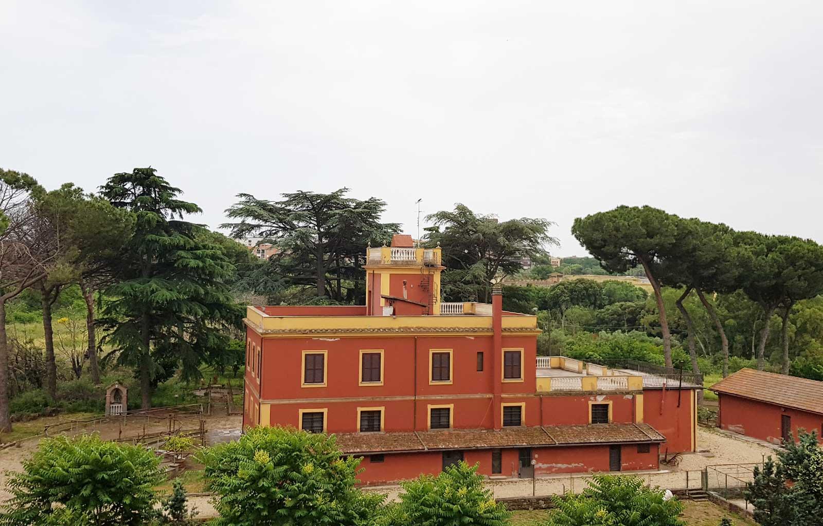 Voyage Italie Rome Vue de ma chambre d'hôtel Occidental aran park
