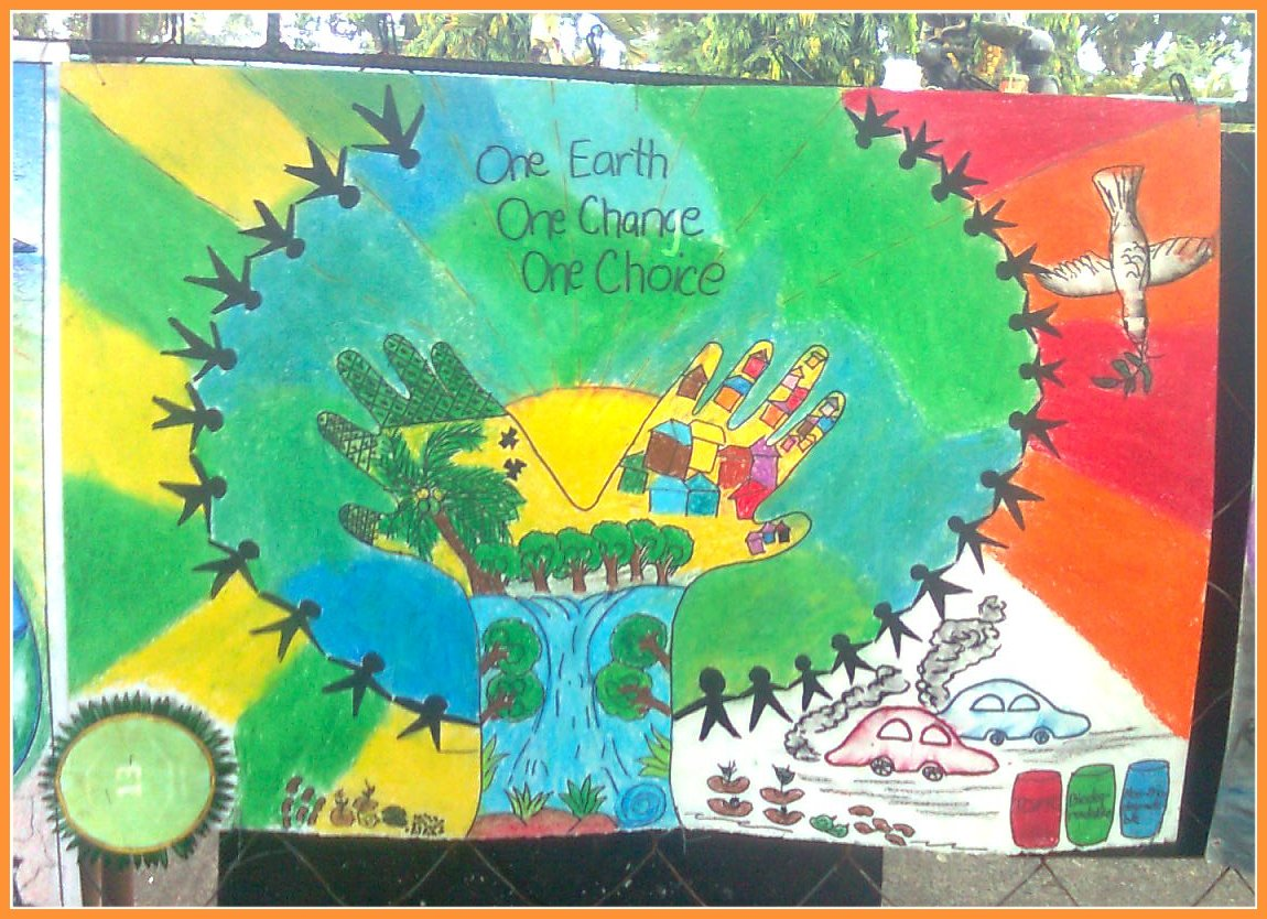 Entry For Poster Making Contest On Environment