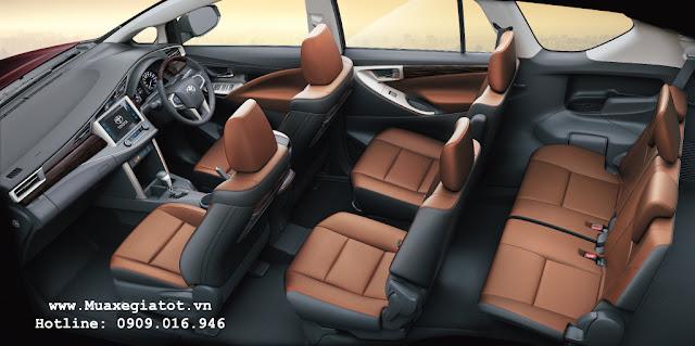 Toyota Innova V là phiên bản trang bị đầy đủ nhất và an toàn nhất trong các phiên bản Innova 2016