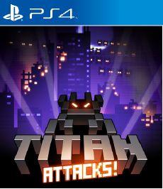 Titan Attacks PS4 [PKG] Oyun İndir [Multi]