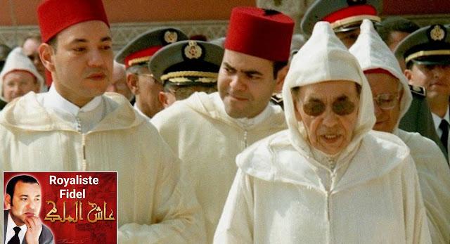 جلالة الملك  الحسن الثاني قدس الله سره ونور مقامه وضريحه