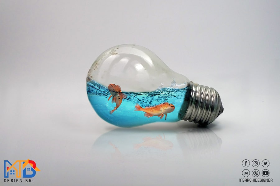 Water Splash in Bulb