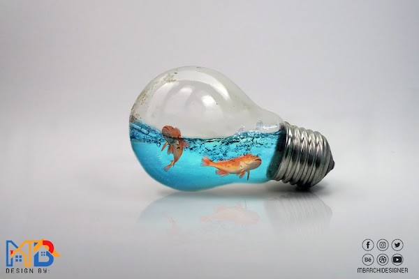 Water Splash in Bulb