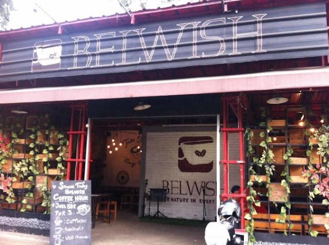 cafe hits Belwish Coffee di bandung