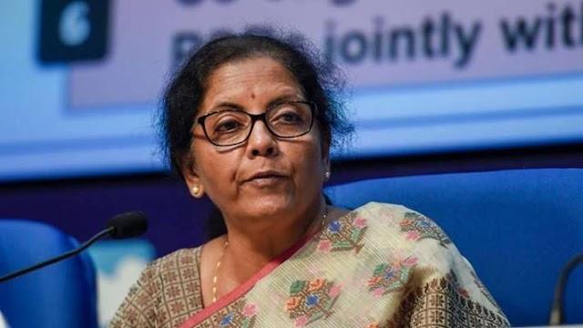 Finance Minister Nirmala Sitharaman to address media at 1 pm today