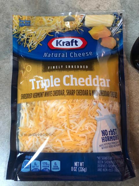 Easy Keto Friendly Hamburger Casserole Triple Cheese Mixture