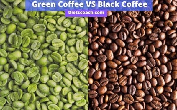 Green Coffee VS Black Coffee