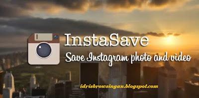 cara menyimpan dan download foto instagram