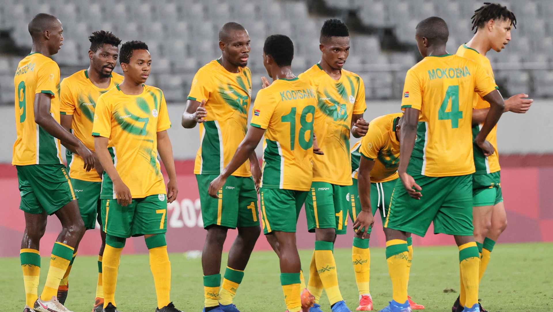 South African men's Olympic football team