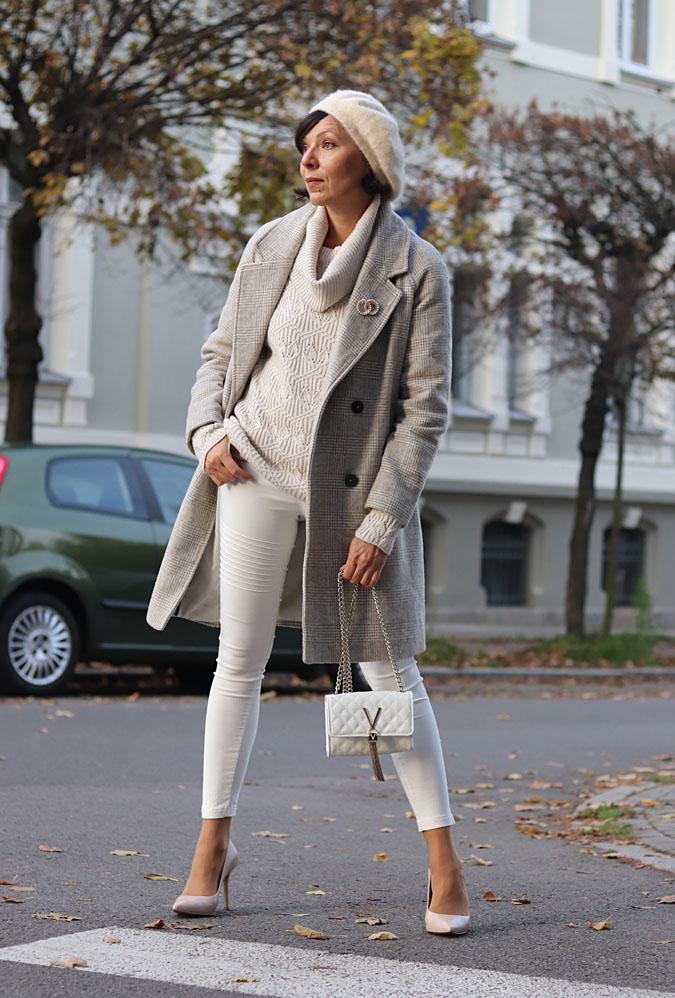 płaszcz zimowy stylizacje