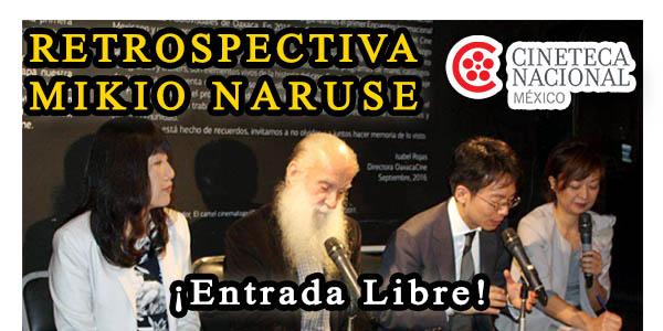 Mikio Naruse en la Cineteca Nacional