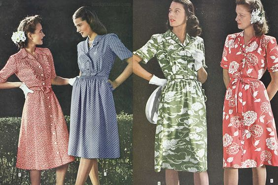 Vestidos vintage