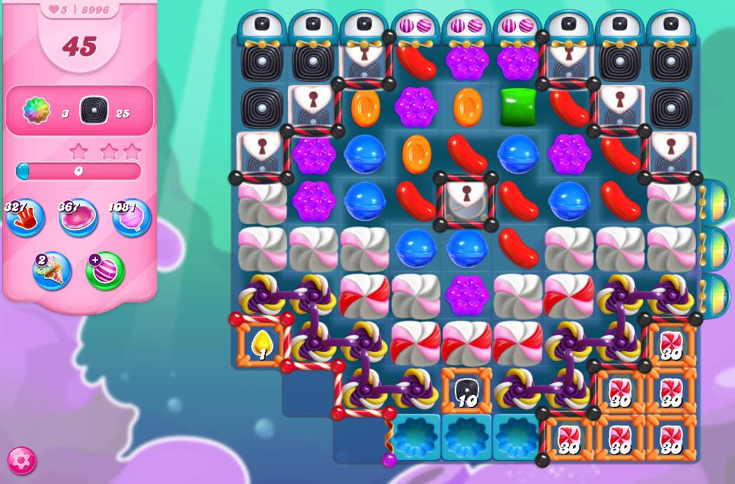 Candy Crush Saga level 8996