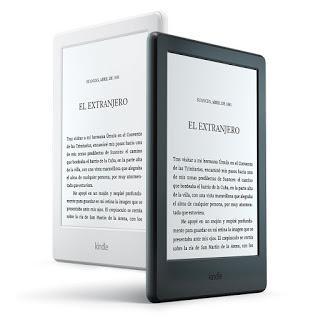 Nuevo E-reader Kindle, pantalla táctil antirreflejos de 6 pulgadas