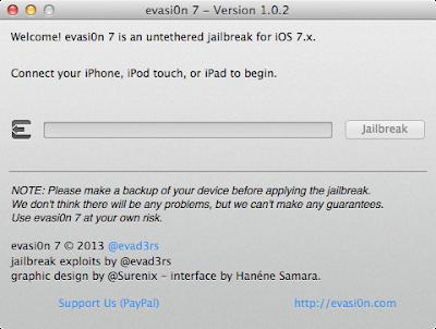 Evasi0n 7 1.0.2 Jailbreak Released, Fixes iPad 2 Wi-Fi Boot Loop Issue