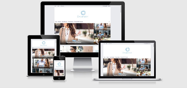 dreamster-responsive-blogger-template